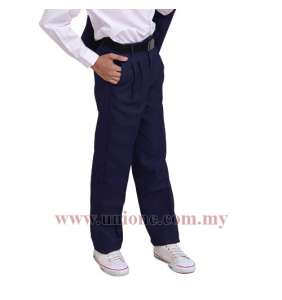 PLEATED NAVY BLUE(U456I)